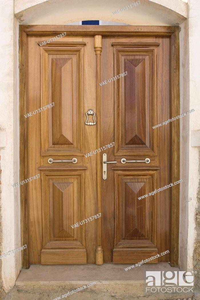 Stock Photo: Closed, Close-Up, Day, Door, Door Handle.