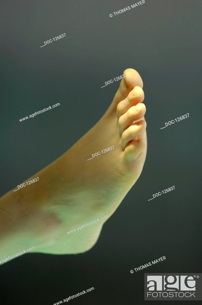Stock Photo: clinic fŸr hand - and accident - surgery, foot operation.