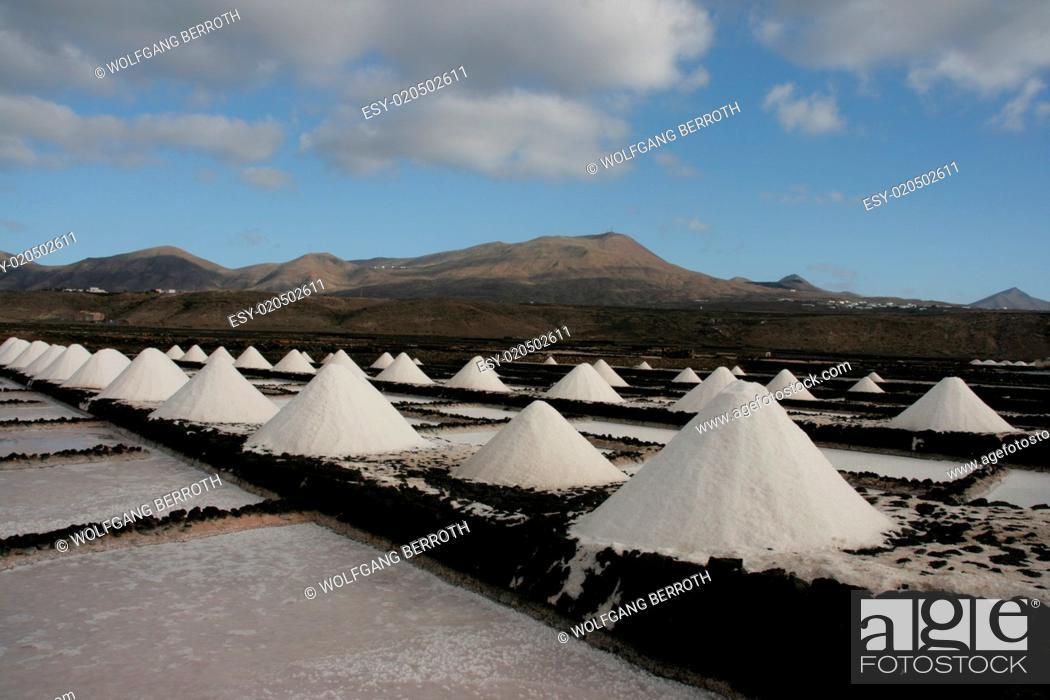 Stock Photo: Salinas de Janubio - Lanzarote.