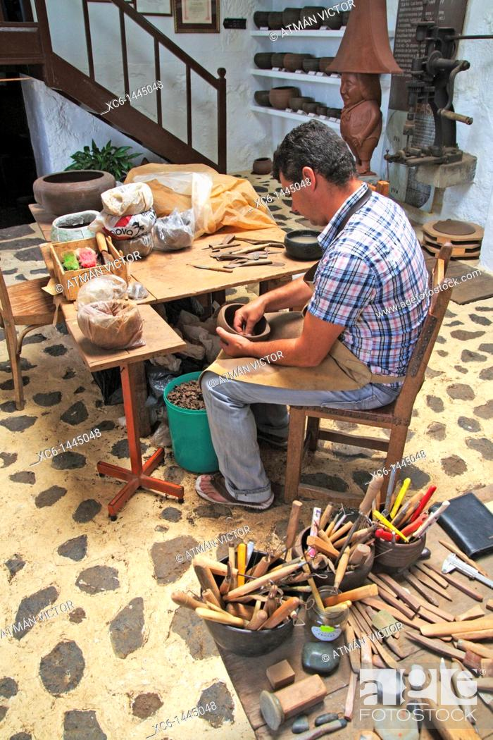 Stock Photo: Artisan, La Palma, Canary Islands, Spain.