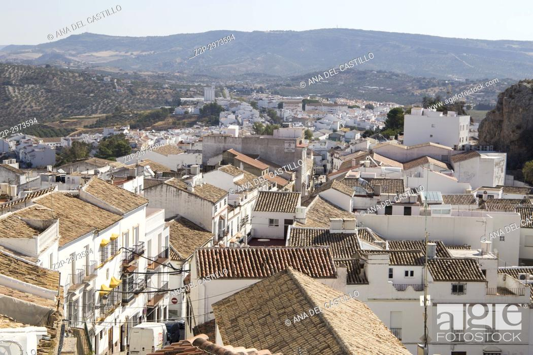 Photo de stock: Olvera is one of the most beautiful villages in Spain, Andalusia, Spain, Andalusia, Spain.