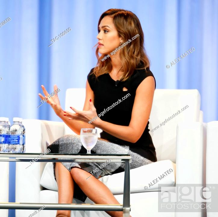 Summer Conference Keynoted By Jessica >> Jessica Alba Speaks During A Keynote Q A At The 2015 Pennsylvania