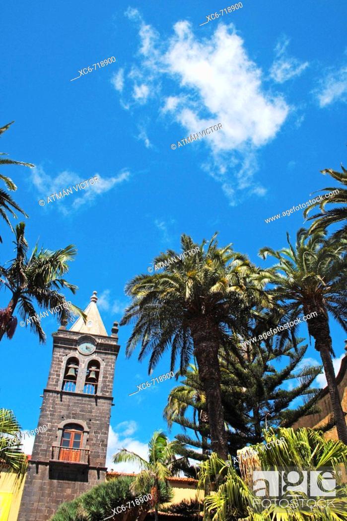 Stock Photo: San Cristóbal de La Laguna, Tenerife. Canary Islands, Spain.
