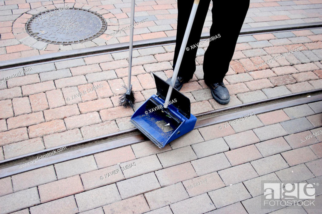 Stock Photo: Sweeping.