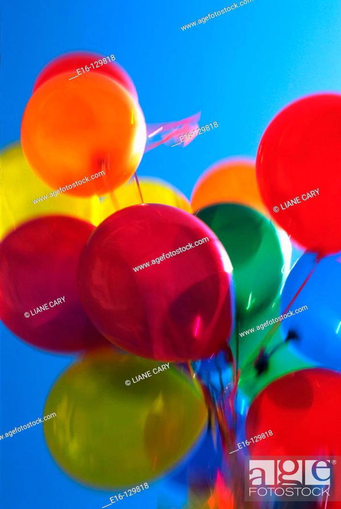 Stock Photo: Balloons.