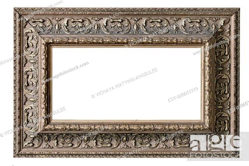 Stock Photo: classic frame.