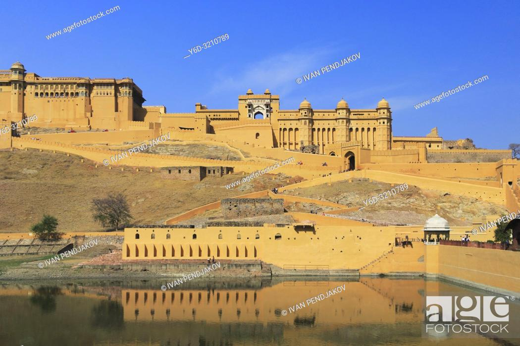 Stock Photo: Amer Fort, Rajasthan, India.