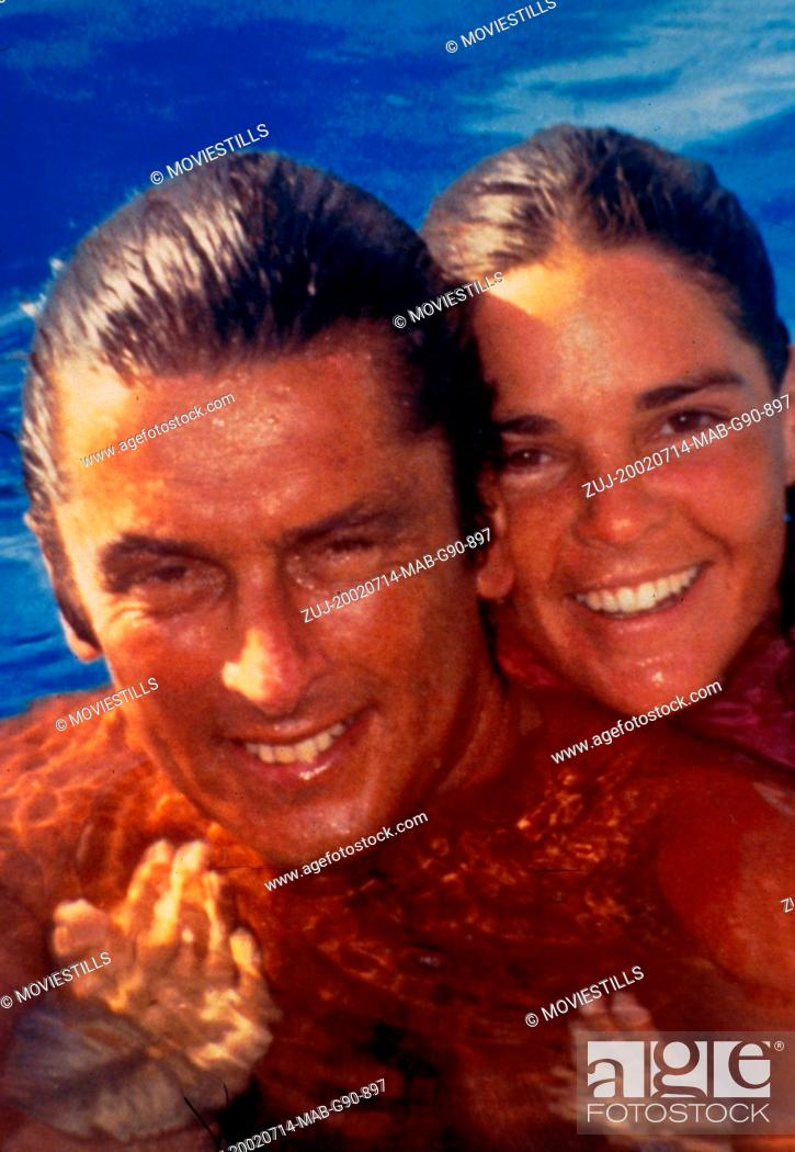 Stock Photo: Jul 14, 2002; Hollywood, CA, USA; Actors ROBERT EVANS and ALI MCGRAW as theirselves star in the documentary 'The Kid Stays in the Picture' directed by Nanette.