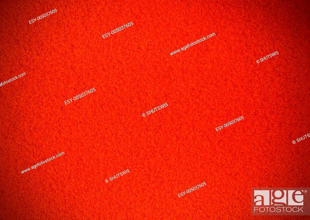 Stock Photo: Crushed red paper texture.