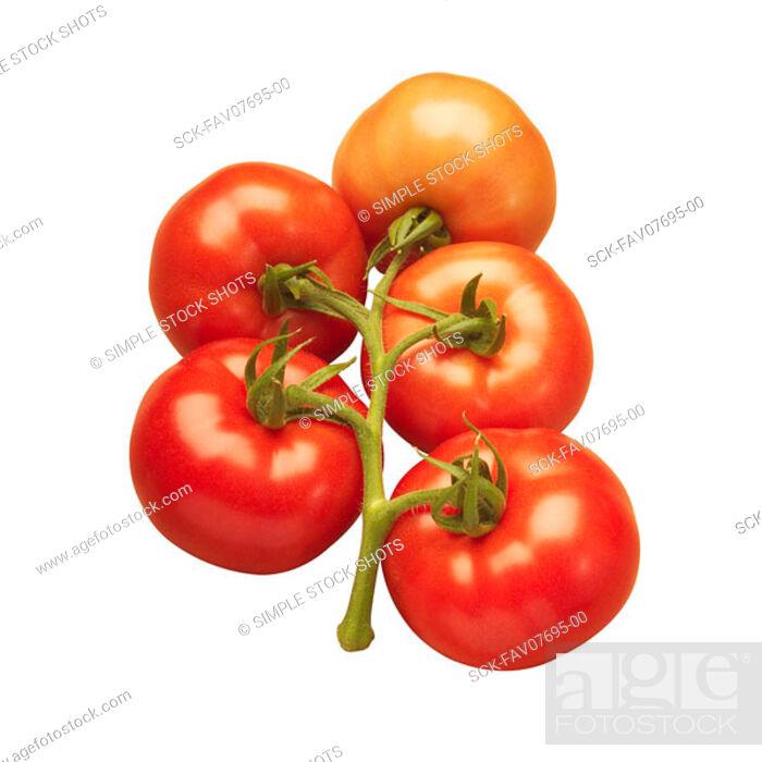 Stock Photo: tomatoes.