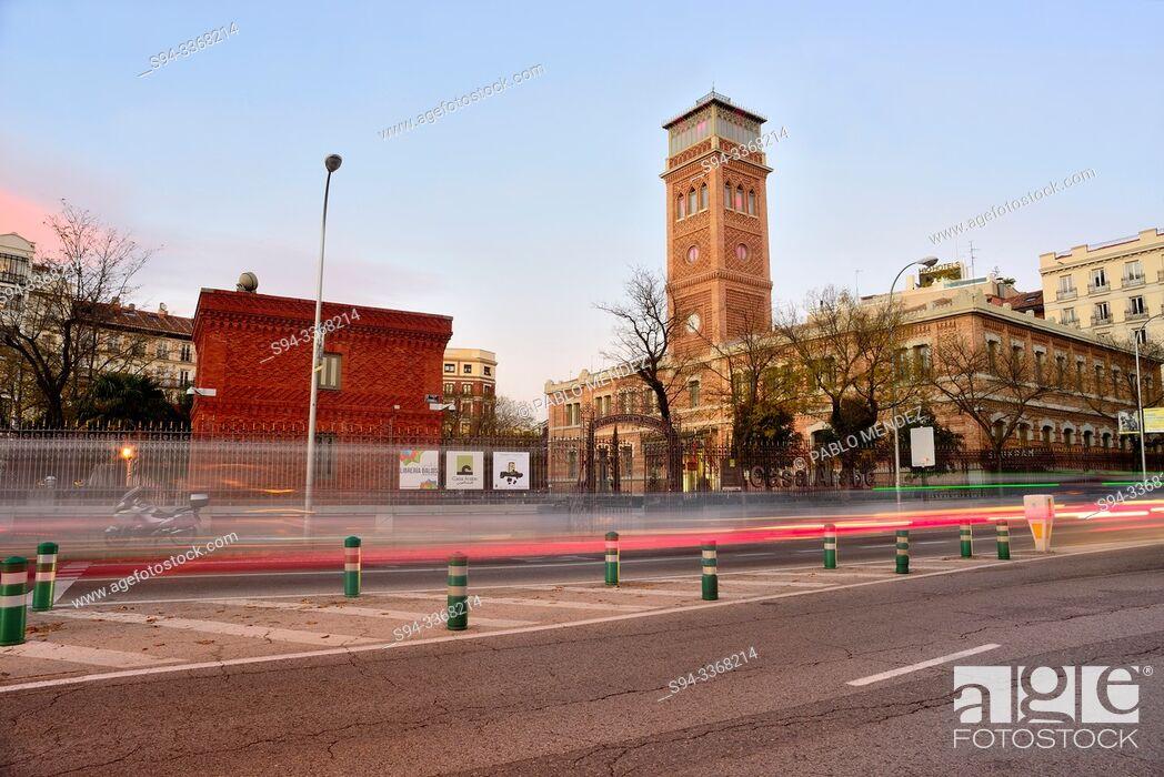 Imagen: Arab house of Madrid, Spain.