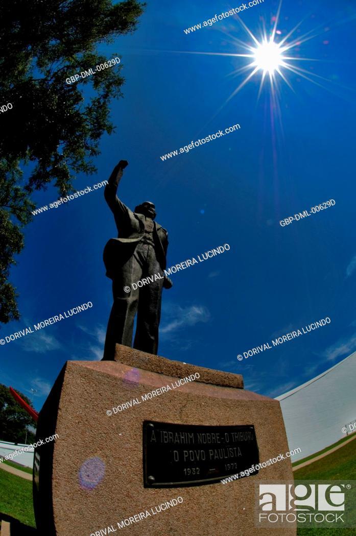 Ibrahim Nobre Monument, Ibirapuera Park, São Paulo, Brazil