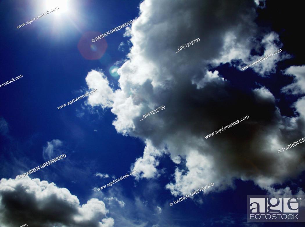 Stock Photo: Sky.