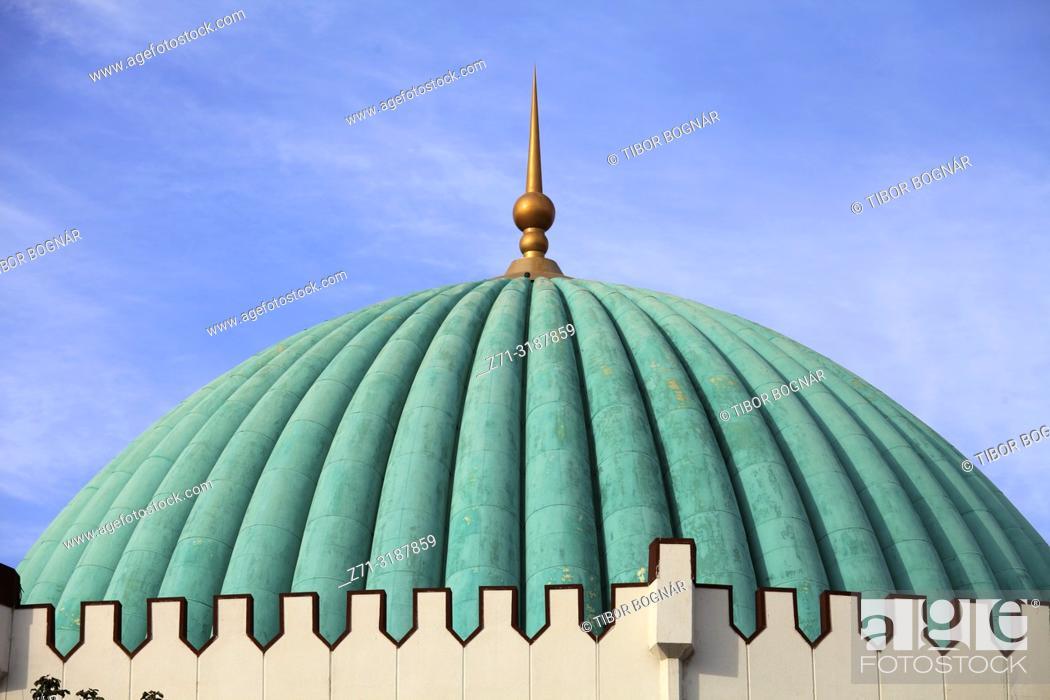 Stock Photo: Uzbekistan; Tashkent, Amir Timur Museum,.