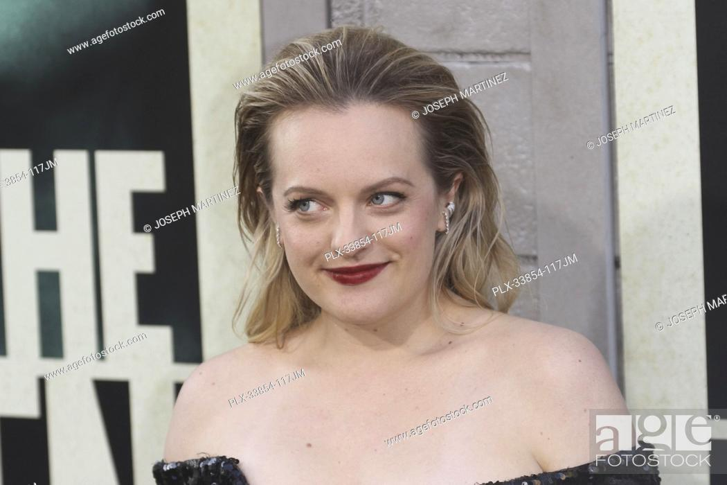 """Stock Photo: Elisabeth Moss at Warner Bros. Pictures' """"""""The Kitchen"""""""" Premiere held at the TCL Chinese Theatre, Los Angeles, CA, August 5, 2019."""