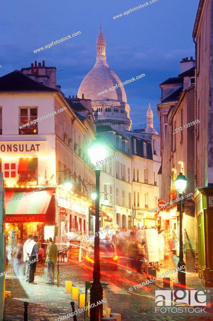 Stock Photo: Paris, Montmartre.