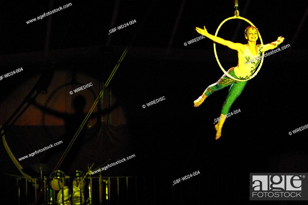 Stock Photo: People, circus, everyday,.