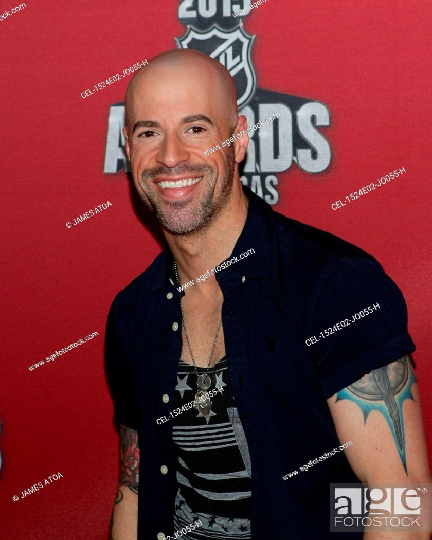 Chris Daughtry At Arrivals For 2015 National Hockey League Nhl