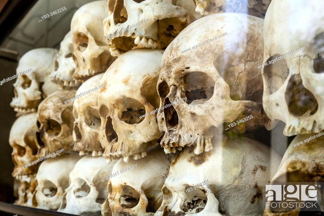 Stock Photo: Choeung Ek Genocidal Center (The Killing Fields) Phnom Penh, Cambodia.