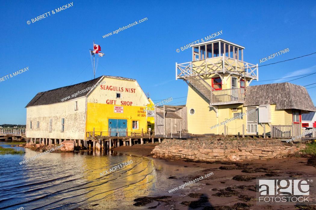 Stock Photo: North Rustico, Prince Edward Island, Canada.