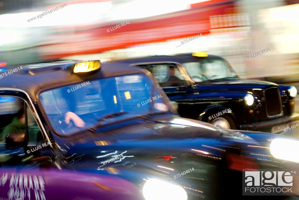 Stock Photo: Traffic, London, England. UK.