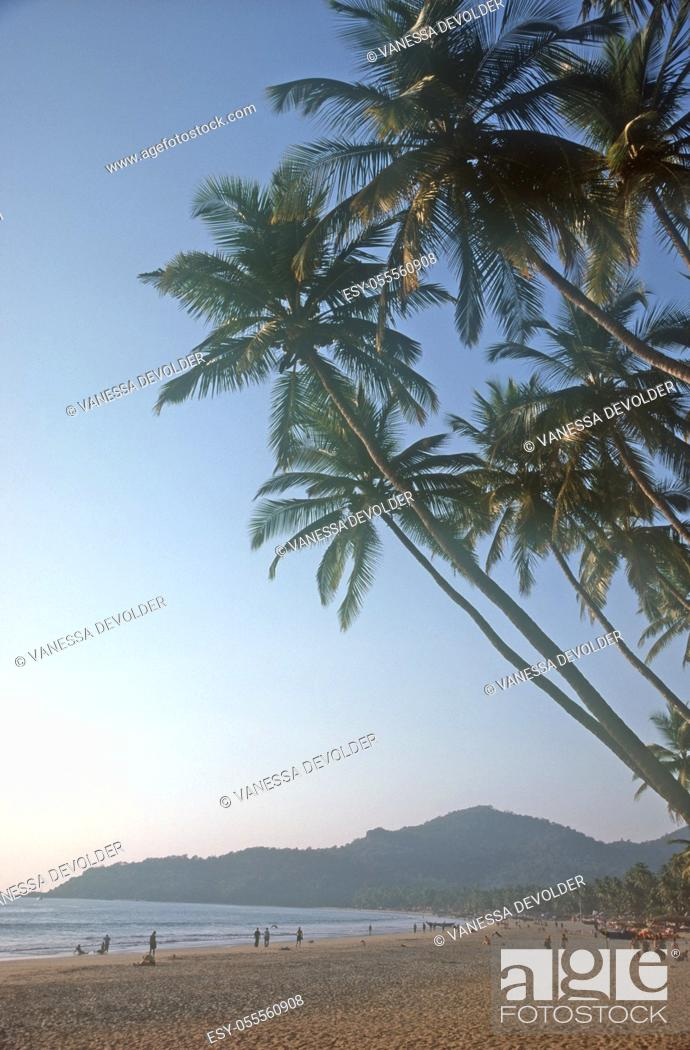 Imagen: Palolem beach, located in Goa, India, Asia.