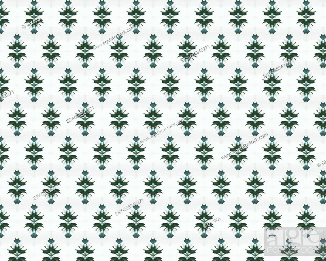 Stock Photo: vintage shabby background with classy patterns.