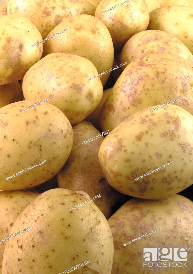 Stock Photo: Baking potatoes.