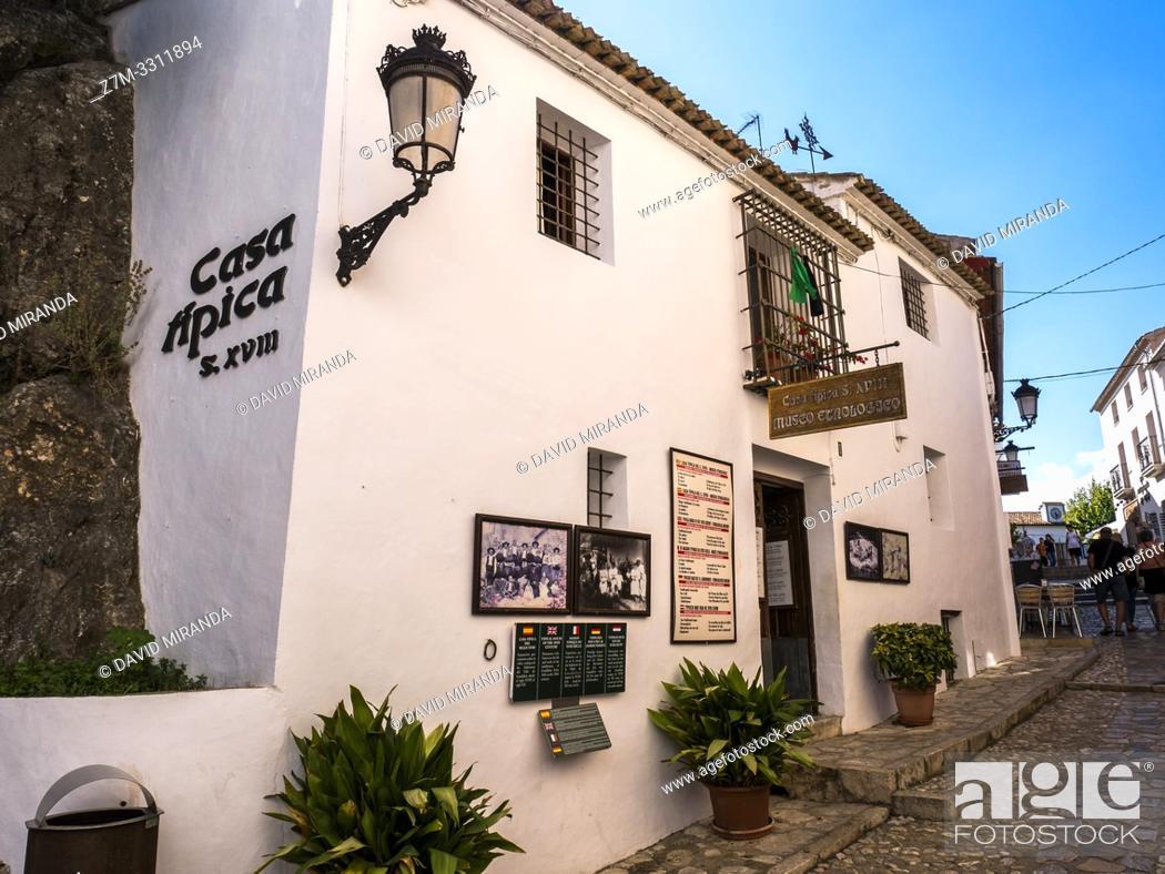 Imagen: Casa típica. El Castell de Guadalest. Alicante. Valencian Community, Spain.