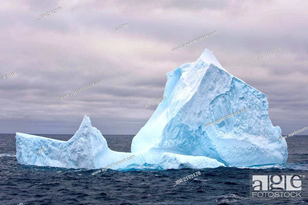 Imagen: Icebergs, South Orkney Islands, Southern Ocean, Antarctica.