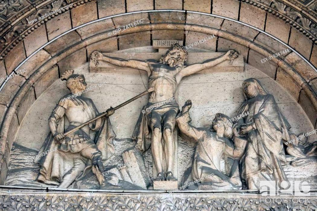 Stock Photo: Crucifixion.