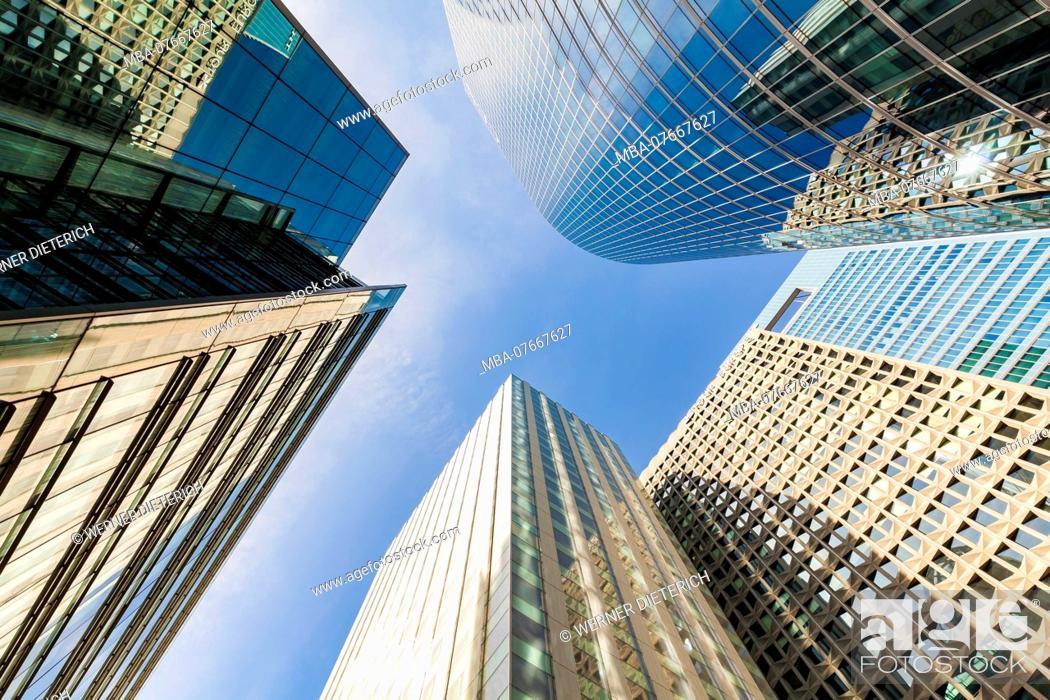 Stock Photo: France, Paris, La Défense, office city, skyscrapers, office building s.