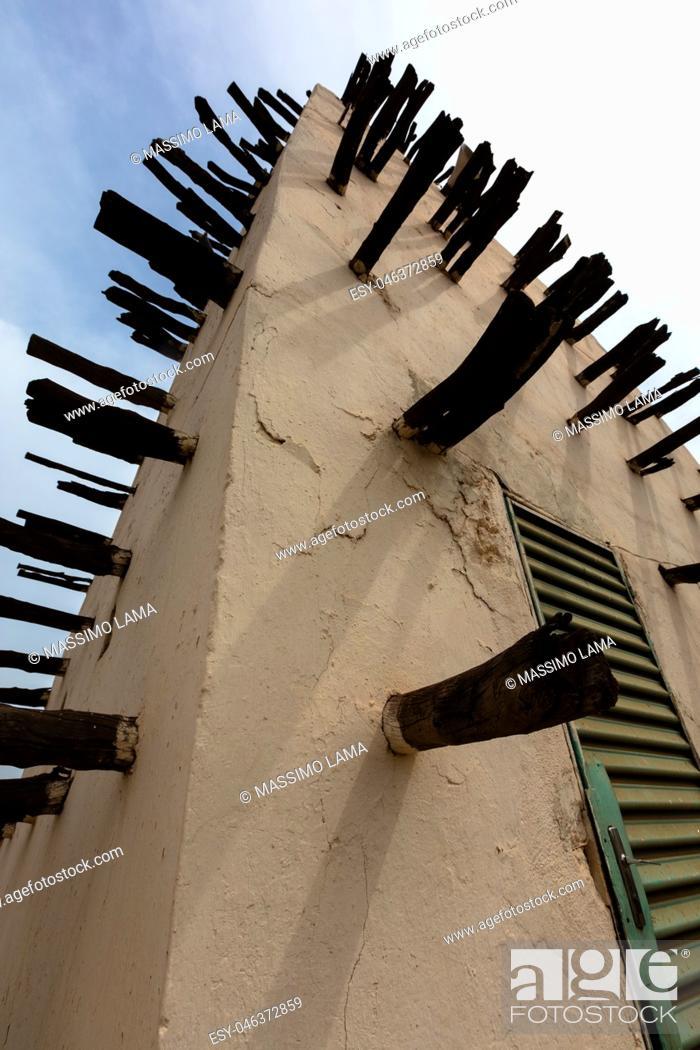 Stock Photo: The grand Mosque in Bobo-Dioulasso Burkina Faso.