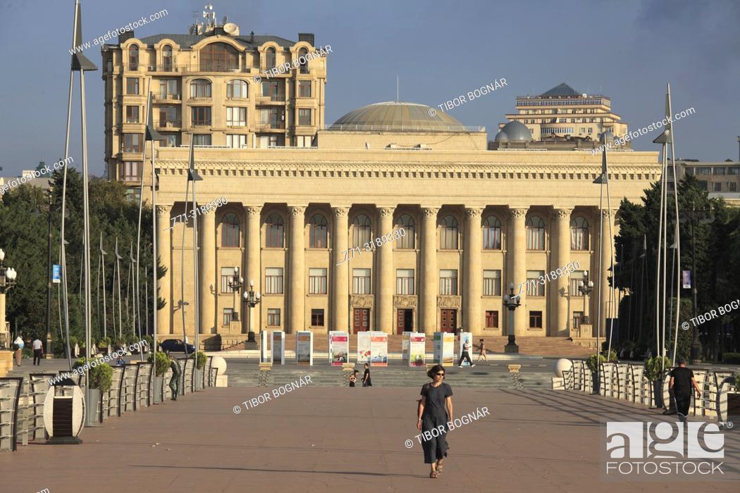 Stock Photo: Azerbaijan, Baku, The Museum Center,.