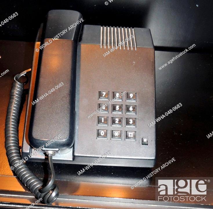 Push button Phone 1980  The telecommunication Administration