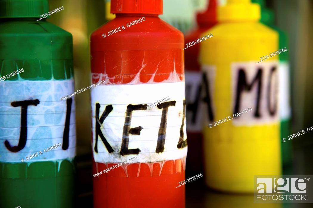Stock Photo: Ketchup.