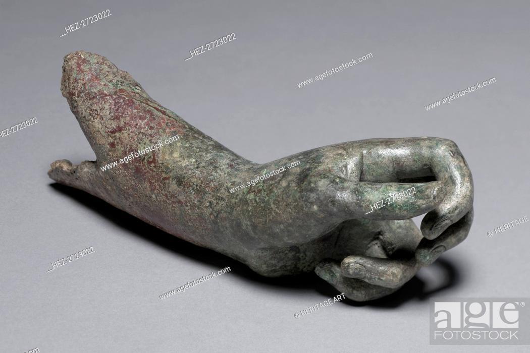 Stock Photo: Apollo the Python-Slayer, c. 350 BC. Creator: Praxiteles (Greek, c. 400BC-c. 330BC), attributed to.