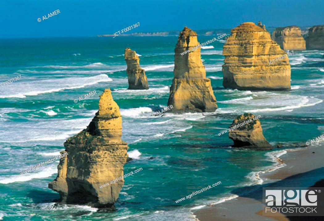 Stock Photo: Australia, coastline.