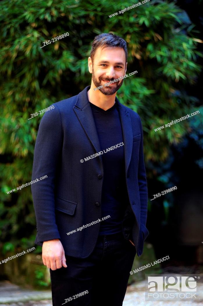 Imagen: Raoul Bova; Bova; actor ; celebrities; 2015;rome; italy;event; photocall; la scelta.