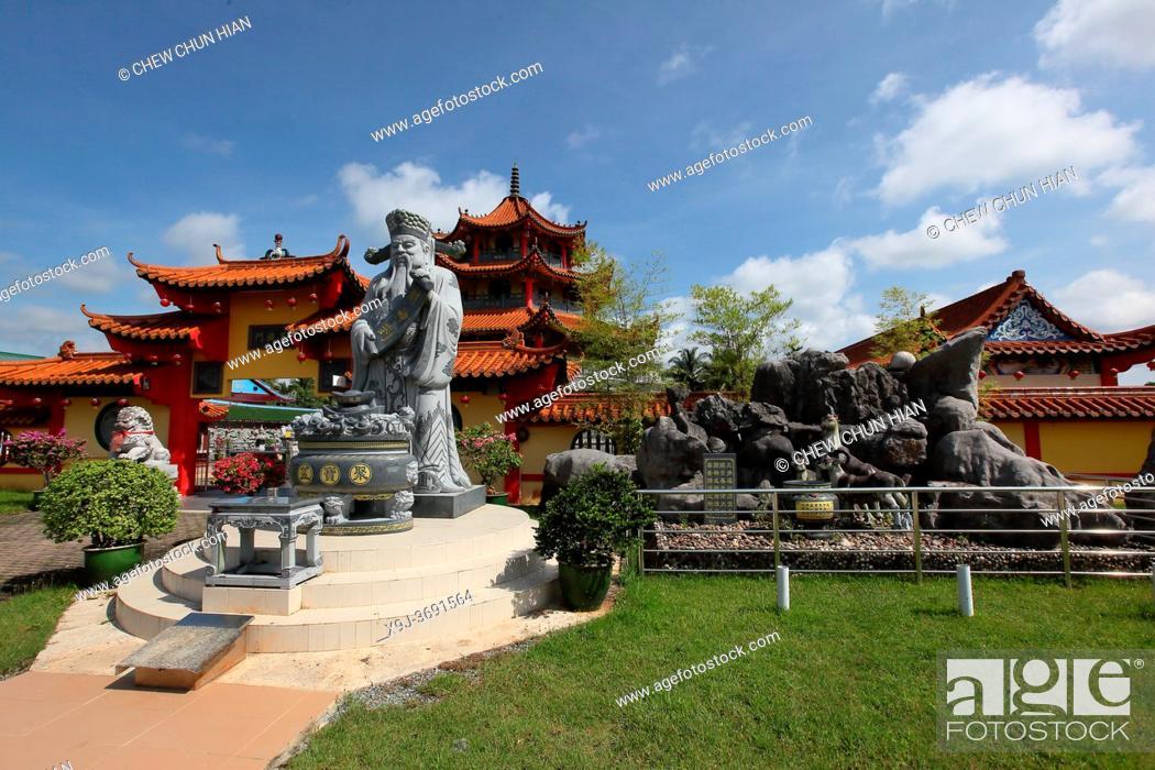 Stock Photo: Beliong Chinese temple at Beliong, kuching, Sarawak, Malaysia.