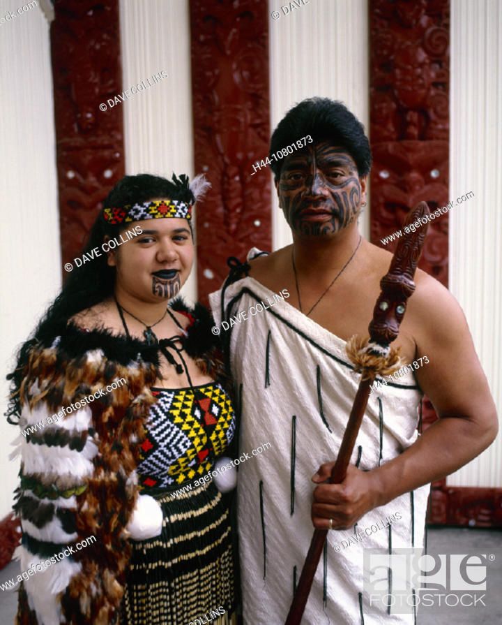Stock Photo: costume, cultural, culture, daytime, face, faces, holiday, house, indigenous, island, man, Maori, Maoris, meeting, M.