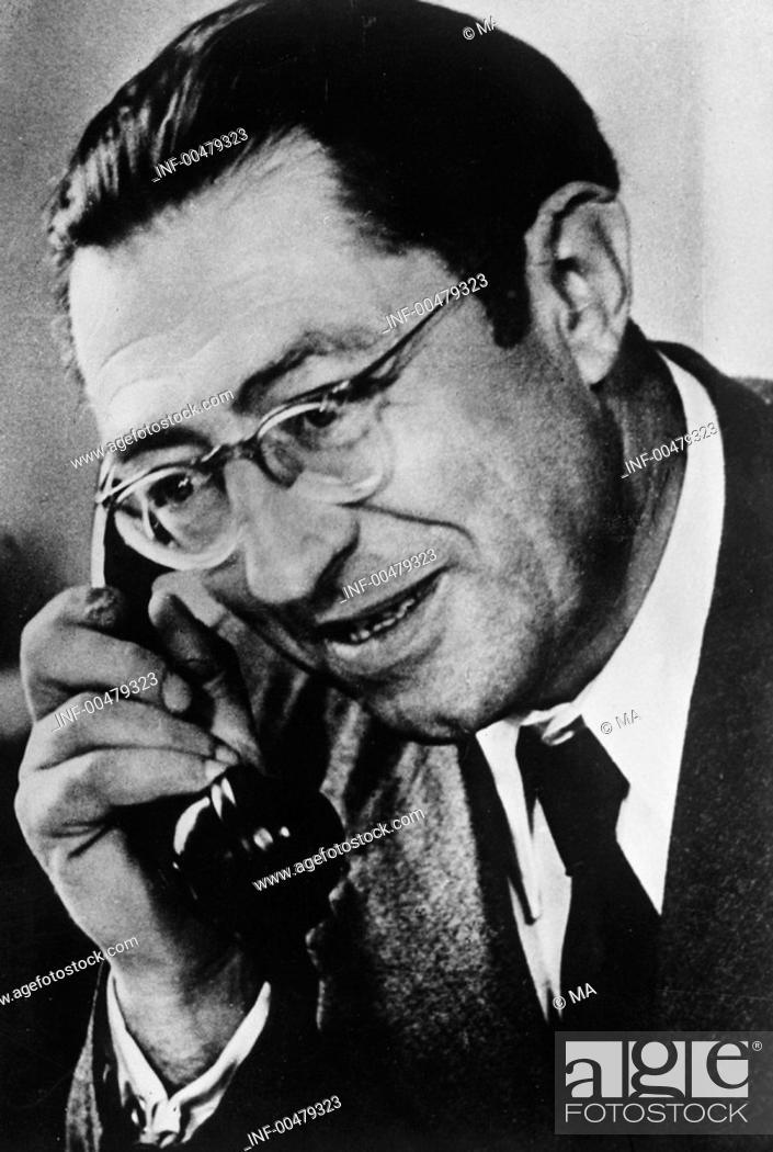 Stock Photo: Selbmann, Fritz, 29.9.1899 - 26.1.1975, deut.  Politiker (SED), Industrieminister der DDR 1949 - 1955. Stellvertretender des Vorsitzenden des  Ministerrat 1956.