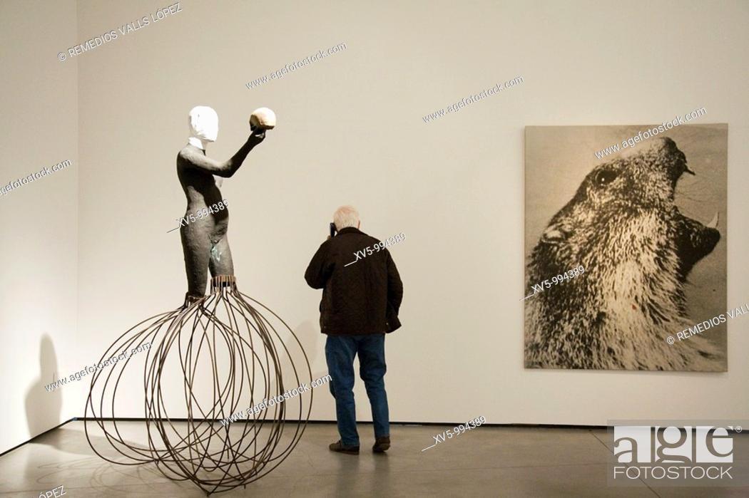 Stock Photo: Spain. Balearic Islands. Mallorca. Palma de Mallorca. Es Balluard, museum of modern and contemporary art.
