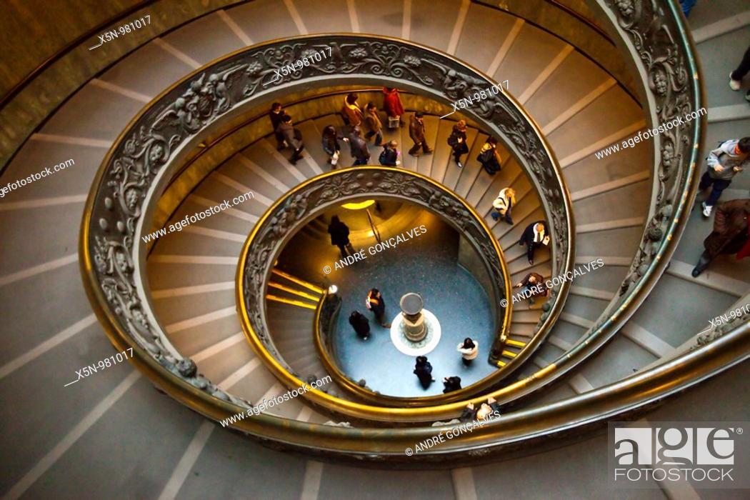 Stock Photo: Vatican Stairs.