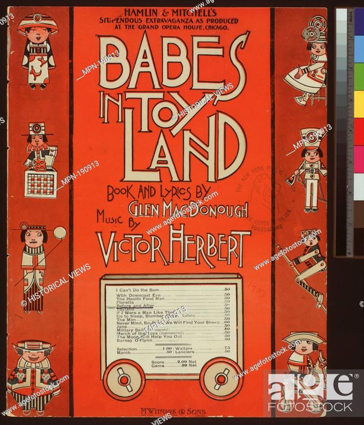 Stock Photo: Before and after Additional title: Babes in Toyland. Before and after. Vocal score. Herbert, Victor (1859-1924) (Composer) MacDonough, Glen (d.