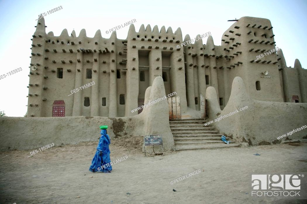 Stock Photo: Grand Mosque At Djenne, Mali.