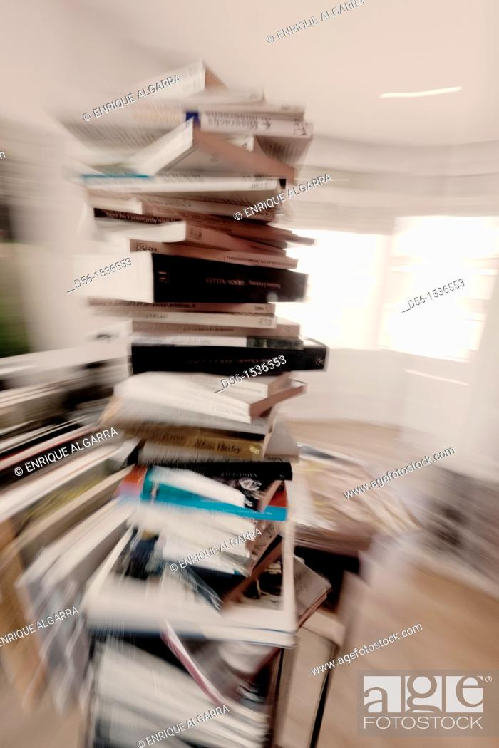 Stock Photo: Books.
