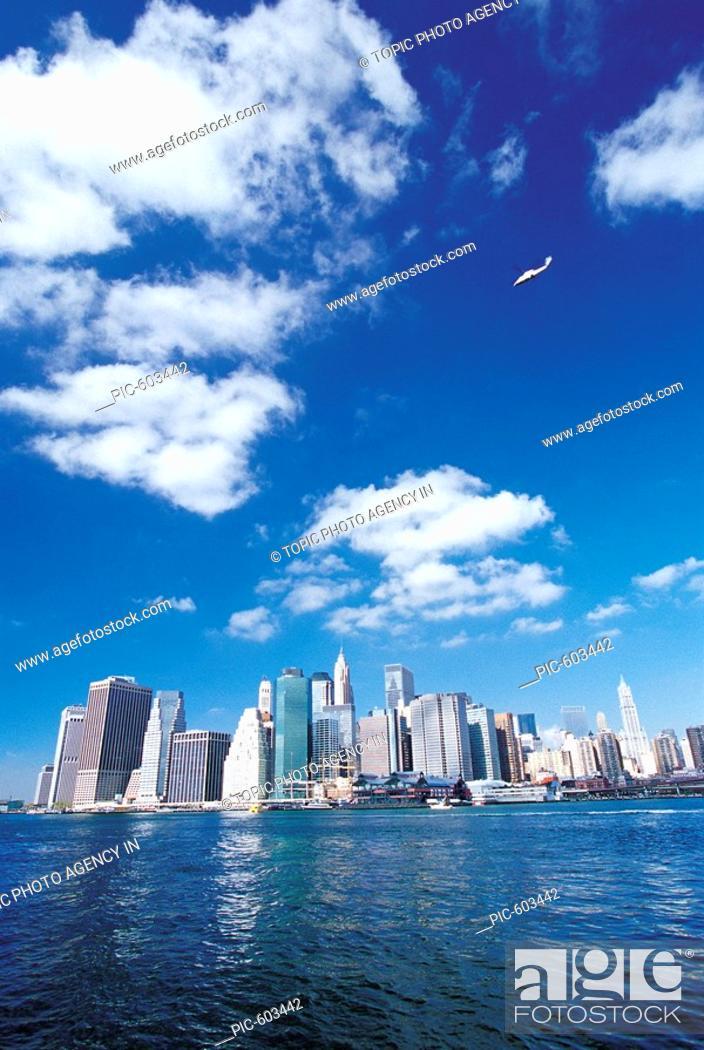 Stock Photo: Views Of City,New York,USA.
