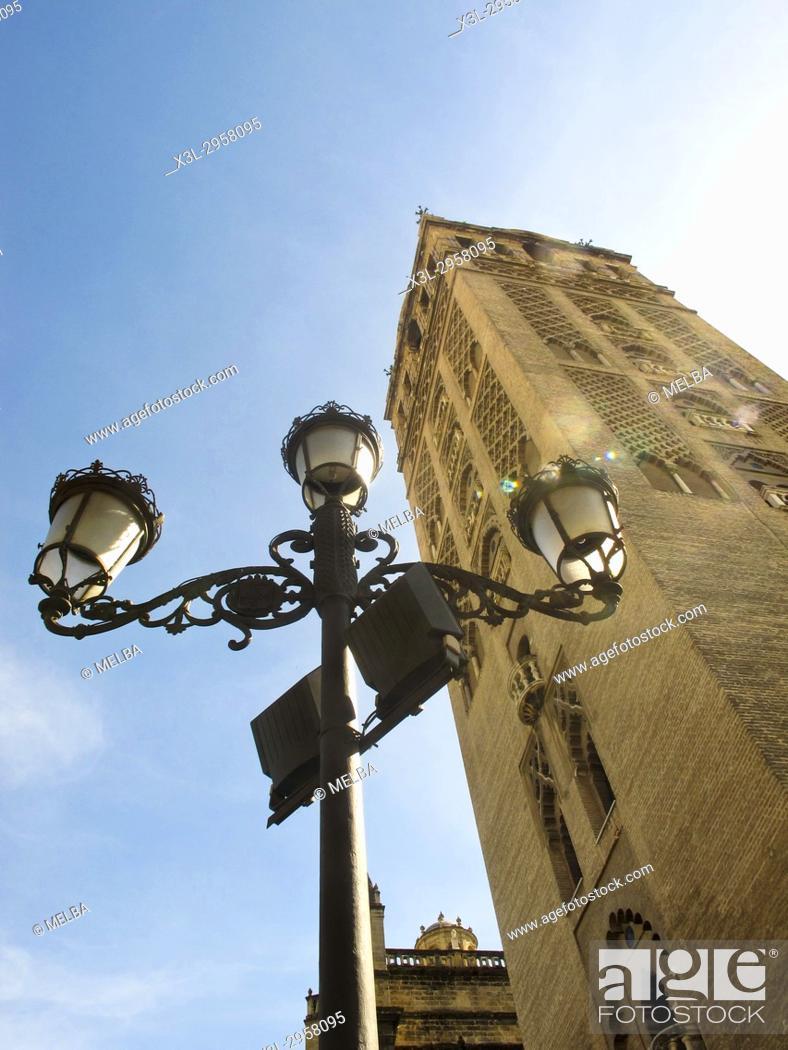 Stock Photo: Giralda. Seville. Andalusia. Spain.