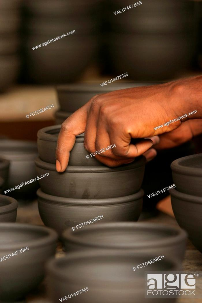 Stock Photo: pottery, ceramic, earthenware, earth, clayware, clay.